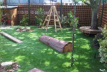 Kids Natural Playground / Inriching Kinder centrum binnen en buiten