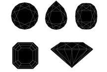 Black diamonds and jewelry