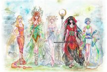 Everything Geek : Anime , cartoons and comics  / by Felesha Daniels-Shamber