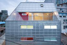 skleněná architektura