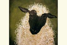 Sheep Paintings