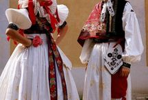 Our Slovakia costumes ♥ / Slovenské kroje...ACH...krása...♥