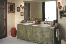 Country Bathroom Vanities / Country Bathroom Vanities, Inhabitants of metropolitan cities are surrounded all day by cutting edge technology, cold concrete buildings and soulless machines. It is not recommended to bring these inexpressive feelings in the bathroom where we are supposed to distress. Hence, you can bring some intimacy into your bathroom using country bathroom vanities. Country vanities design palette consist of soothing soft tones of light blue, old rose and gray that enable great relaxation.