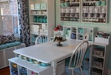 Craft room / For a dream room / by Mary Laird