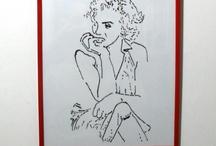 Marylin Monroe / by Disegni su vetro