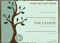 Genealogy - Family Reunions
