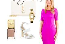 Pencil Dress Coco Pink / Kies voor stijl en elegantie in een spetterend roze kleur. De jurk sluit om je lichaam en accentueert je vormen met de witte rits aan de achterkant. Draag deze jurk met een jasje voor een businesslook of een vestje en laarzen voor een casual look.