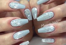 Winter nailart ballerina