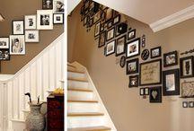 parede da escadad