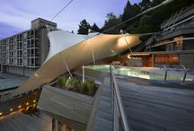 Sail Shade, membrane, Tensile structure