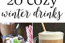 Winter drinks/ food