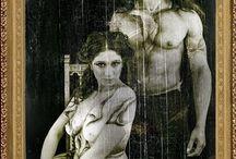 "Cuerpo Pintado 19 / Sesion ""La Quintrala"" Maquillaje Tania Roitman"