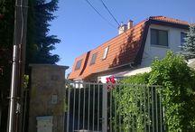 VELUX tetőablakok mansard tetőben / VELUX tetőablakok beépítése mansard tetőbe.