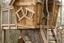 boomhut - speelhuisje