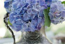 Jarras con flores