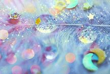 sparkly, shiny, glitter and shimmer / by Caitlin Fisher