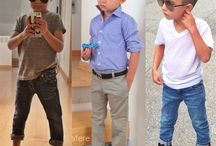 Stylish little boy / Boy's fashion