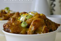 Dinner time vegevegatarianish / Food / by Alissa Owens