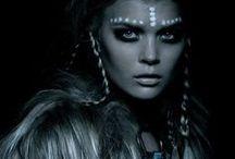 Photo shoot - Face paint & Headresses