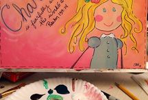 My Painting Classes- Create in Me  / by Chelsey Hill
