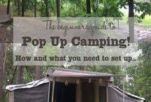 Pop up camping!!
