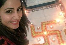 Television stars celebrated Diwali festival with Friends and family