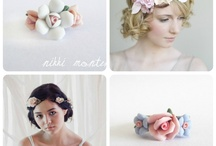 Flower Crown / Beautiful flower crown headpieces and my own jewellery inspired by them...