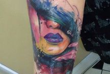 Watercolor Tattoos/Abstract