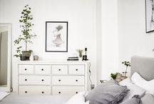 Yatak odaları, çalışma alanları