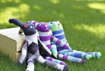 Sock animals / Make your own sock animals