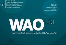 WAOLab / Numérisation 3D / Création de contenus interactifs en 3D / Visite virtuelle 3D / VR experience http://www.waolab.com