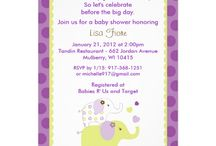 Sweet Baby Elephant Baby Shower