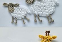 Crochet animals and insects