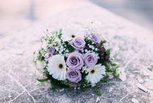 Hochzeit-Floristik / Schöne Blumensträuße die ich auf diversen Hochzeiten fotografieren durfte.