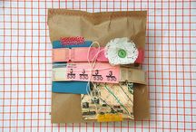 package + paper / love, love, LOVE ephemera.
