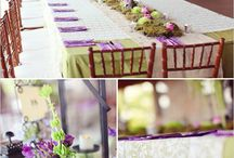 Wedding Reception Ideas / by Donna Bivins