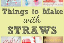 Straws craft
