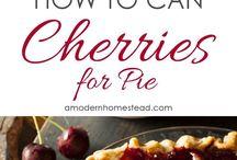Cherries & ciliege