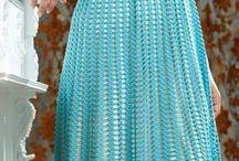 платье связанное