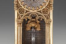 metal casting clock