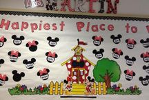 Disney themed classroom