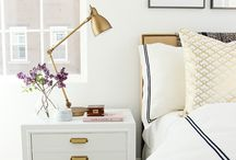 White & Gold Interiors / Classic and luxe - love, love, love!