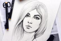 Fashion Portrait / My artwork