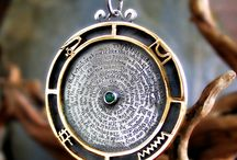 Emerald Jewelry / Emerald Tablet and emerald Stone jewelry by the artist David Weitzman