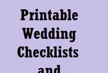 printables for weddings