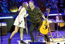 James Hetfield and Cali Hetfield 15 May San Francisco 2015 / James Hetfield  full show at acoustic 4 a cure 15 May San Francisco 2015