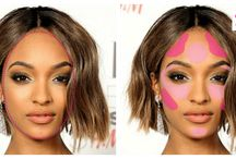 Make up and contouring