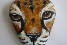 painted rock art