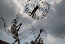 Художественные скульптуры