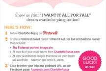 """I Want It ALL for Fall at Charlotte Russe!"" / by Casaundra Wilson"